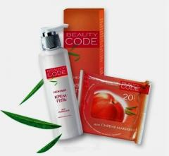 Cosmetics of Beauty Code for care of sensitive