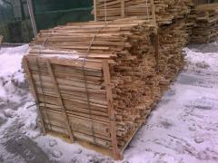 Hermally processed coniferous laying for wood