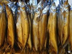 Sun-dried river fish