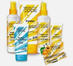 Sun-protection Beauty Code series
