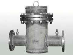 The gas filter, fittings for gas pipelines,
