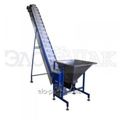 Boot conveyor bucket