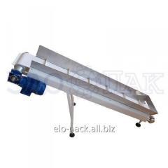 The discharge conveyor