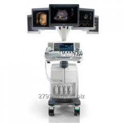 Stationary ultrasonography of a premium...