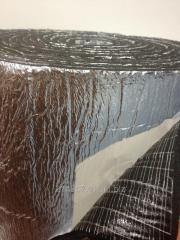 Вспененный каучук 6 мм фольга + клей