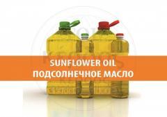 Refined sunflower oil 1 liter.