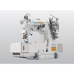 Sewing machine for stitching of chain seam