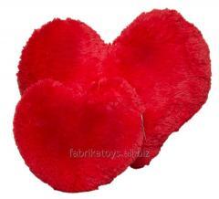 Pillow Heart red 37 cm