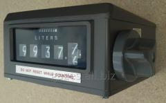 The register calculating for flowmeters of