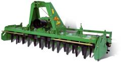 ENERGY: Harrows milling with a rigid frame /