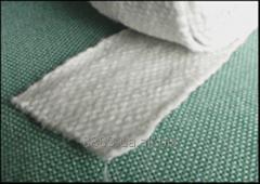 Fabrics made of ceramic fiber