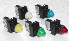 Light-signal fittings (light indicators) of the
