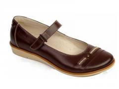 Туфли 6322 коричневый (р. 32-37)