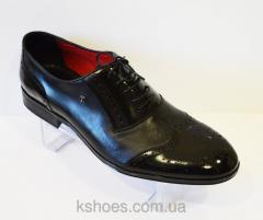 Мужские черные туфли Стептер 5112