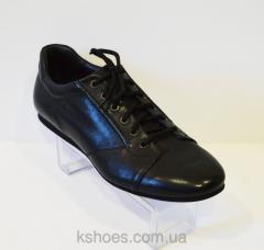 Мужские черные туфли Badura 2496