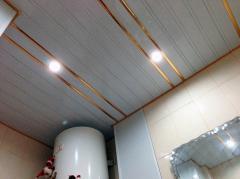 Алюмінієві стелі для ванною