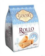 Rollo wafer rolls flavored baked milk