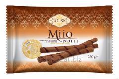 Трубочки вафельні Мііо Нотті з начинкою з какао