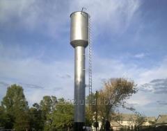 Водонапорная башня Рожновского ВБР-25, общая наполняемость- 50 куб.