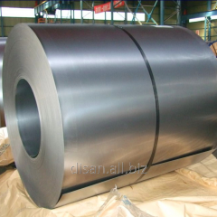 Zinc galvanized steel in rolls 08kp, thickness