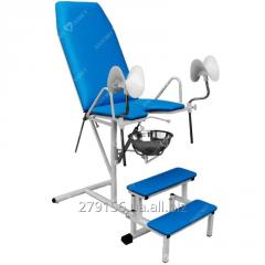 Gynecologycal inspection chairs