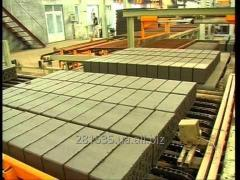Equipment for brick-works. Cutting and automatic