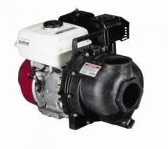 Motor-pump for pumping of KAS, ammoniac water,