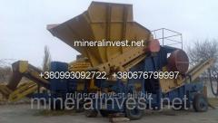Mobile crushing and sorting plant