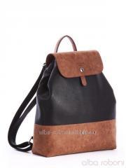 Рюкзак 162035 черно-коричневый