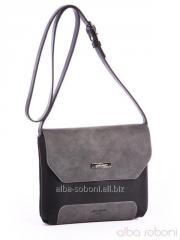 Клатч 162047 черно-серый