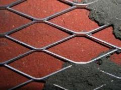 Grid masonry 100х100 of a wire f.4mm cutting