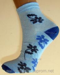 Носки Подростковые 20р цветок