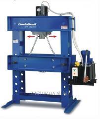 Services of pressing and smyatiya hydraulic press