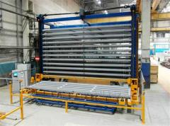 The automated warehouses of sheet metal rolling