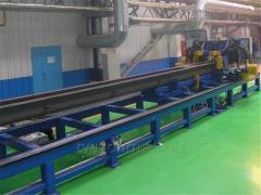 Автоматизированная линия сверловки хребтовой балки