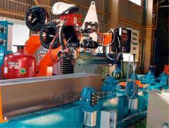 Стенд для сварки балки хребтовой для производства вагонов-цистерн