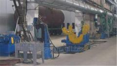 Установка для клепки хребтовой балки для вагонов-хопперов