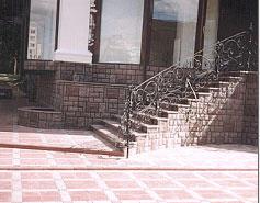 Плитка тротуарная вибролитая