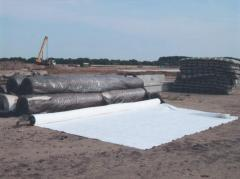 Geotextiles for strengthening and protection of