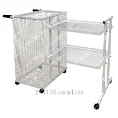 The cart for dirty and fresh linen of TGB