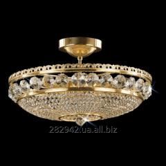 Chandelier crystal Preciosa a covering brass on 6