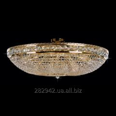 Chandelier crystal Preciosa a covering brass on 15