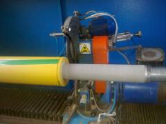 Cutting of rolled materials