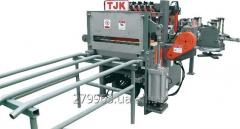 The automatic transfer line for welding of a grid