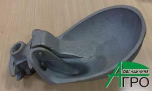 Autodrinking bowls pig-iron