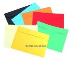 C5 envelopes, color.