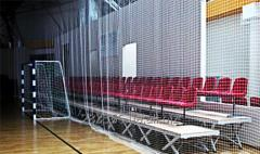Grid protecting - sports. Cell of 100х100 mm of Ø