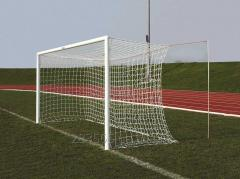 "Grid for a football goal ""the"