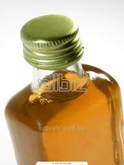 Unrefined packed sunflower oil