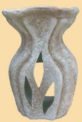 Aromalampa ceramic Hungarian chamotte